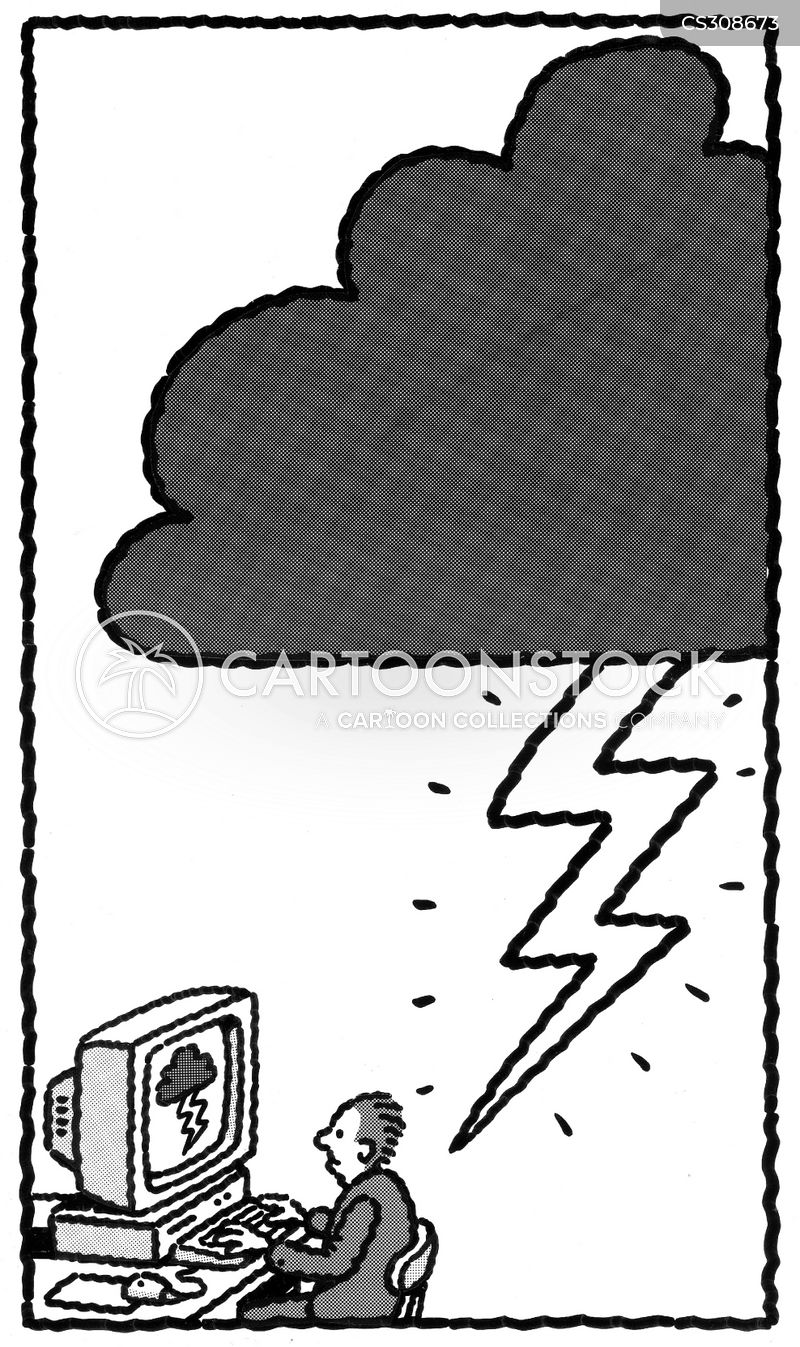 thunderclouds cartoon