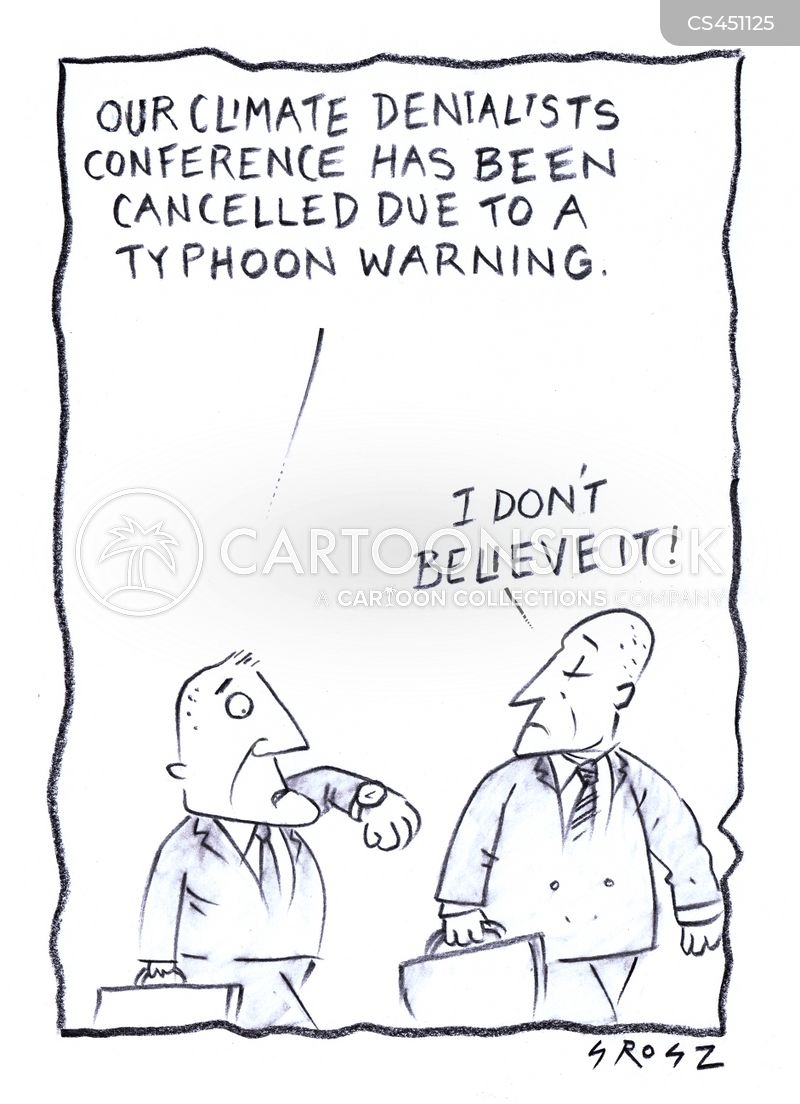 denialists cartoon