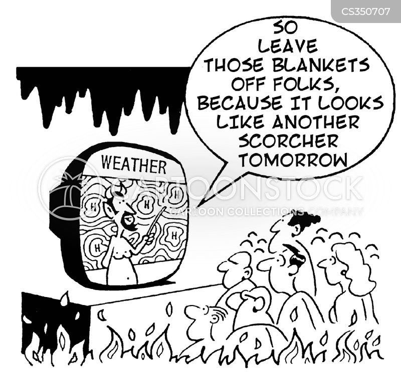 weather forcasts cartoon