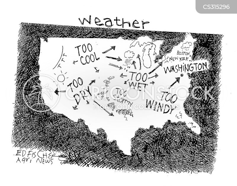 Weather Map Cartoon 4 Of 18