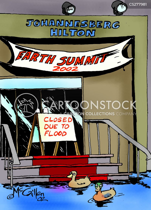 earth summit cartoon