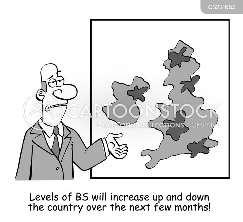 weather map cartoon
