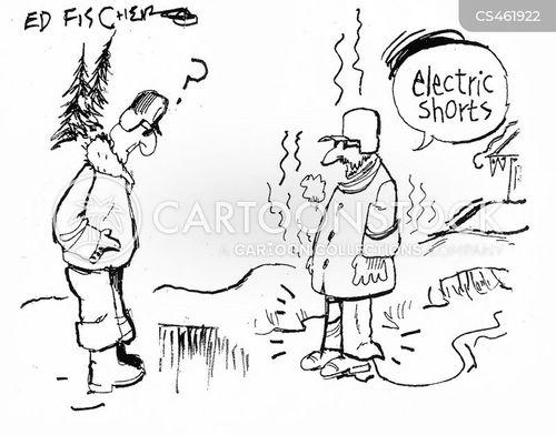 electric blankets cartoon