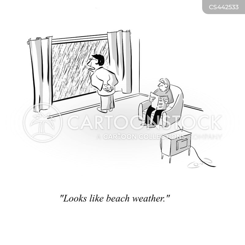 english summertime cartoon