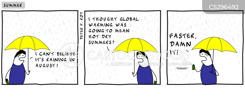 english weather cartoon