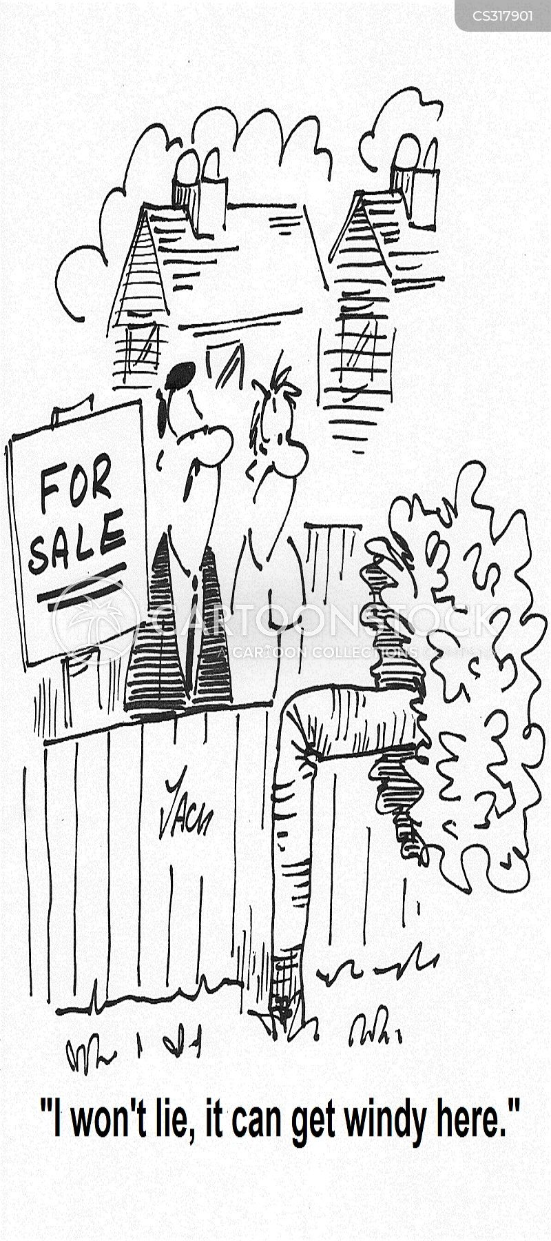 windiness cartoon