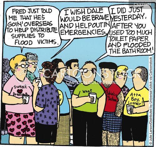 catastrophes cartoon
