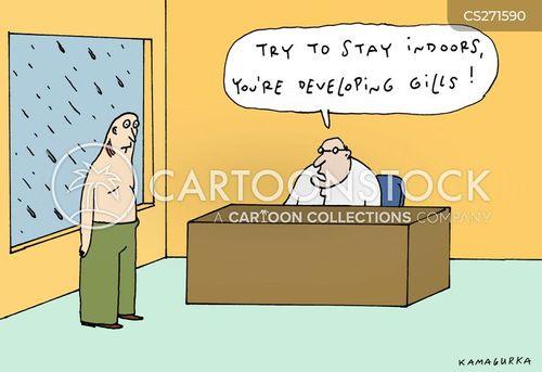 gills cartoon