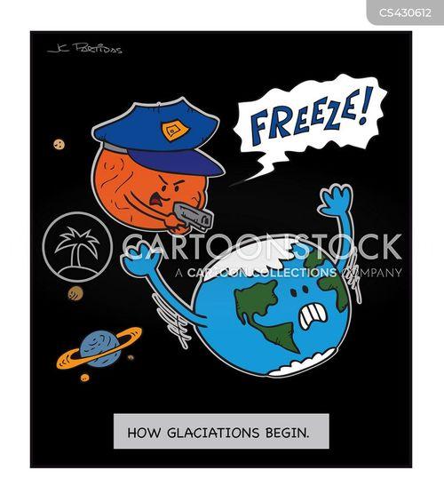 ice ages cartoon