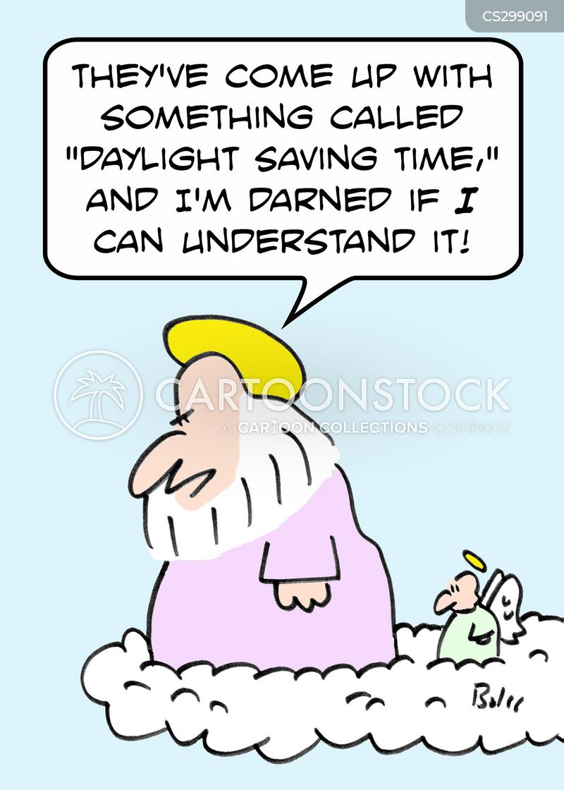 clocks go back cartoon