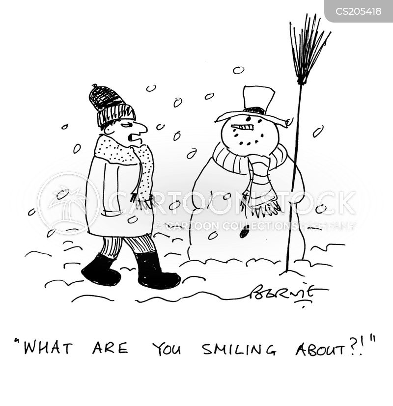 grins cartoon