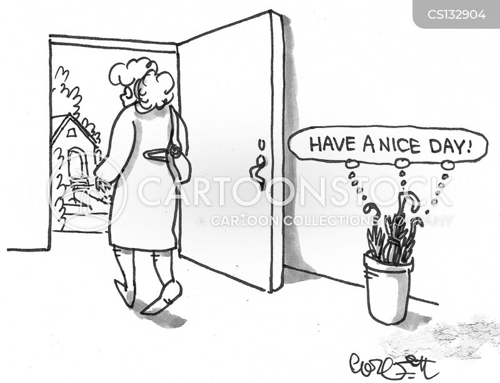nice day cartoon