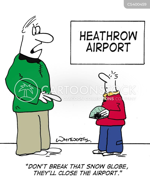 heathrow cartoon