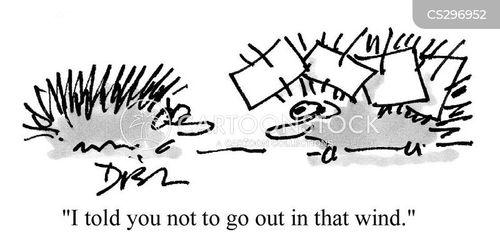breezy cartoon
