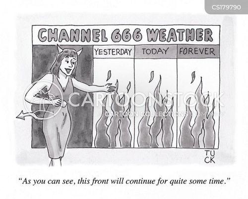 weather reports cartoon