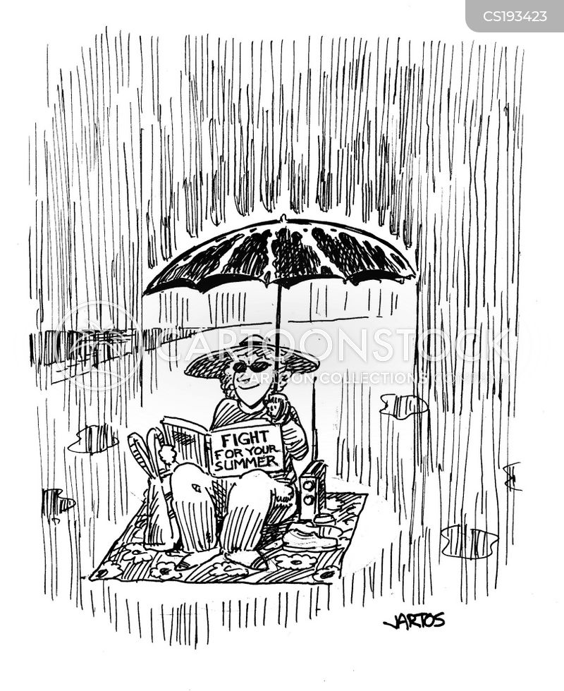 british summer cartoon