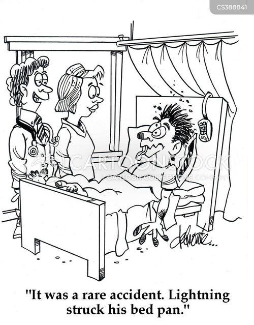 bedpan cartoon