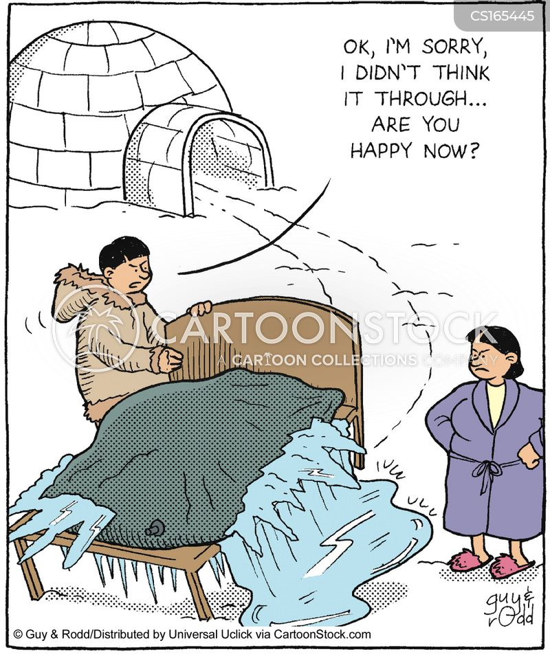 water bed cartoon