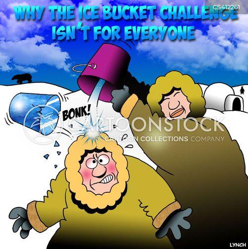 ice-bucket challenge cartoon