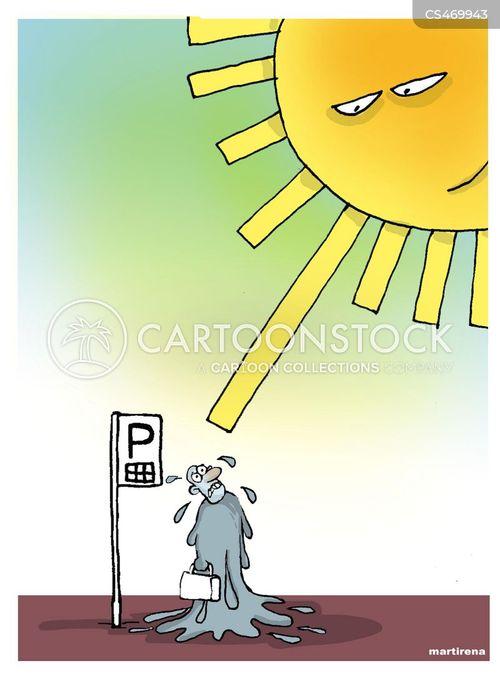 summer weather cartoon