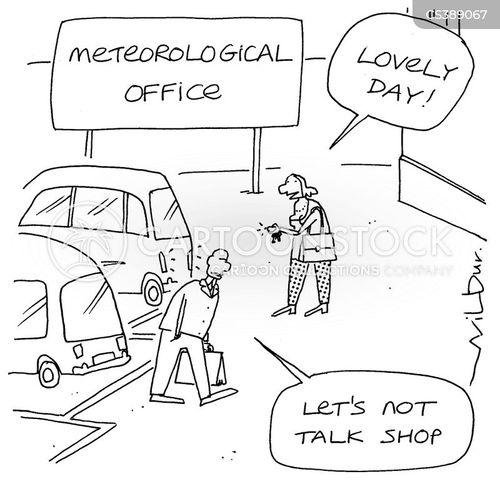 weather forecasting cartoon