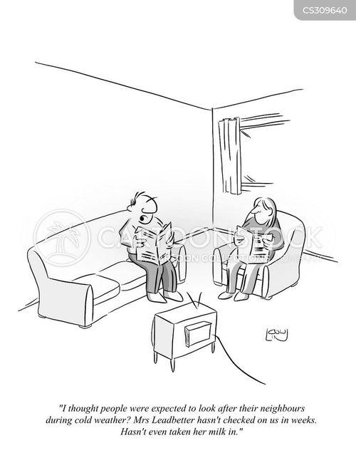community care cartoon