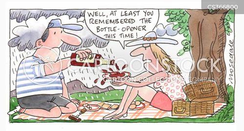 bottle opener cartoon