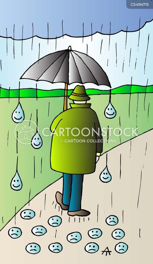 rain drop cartoon