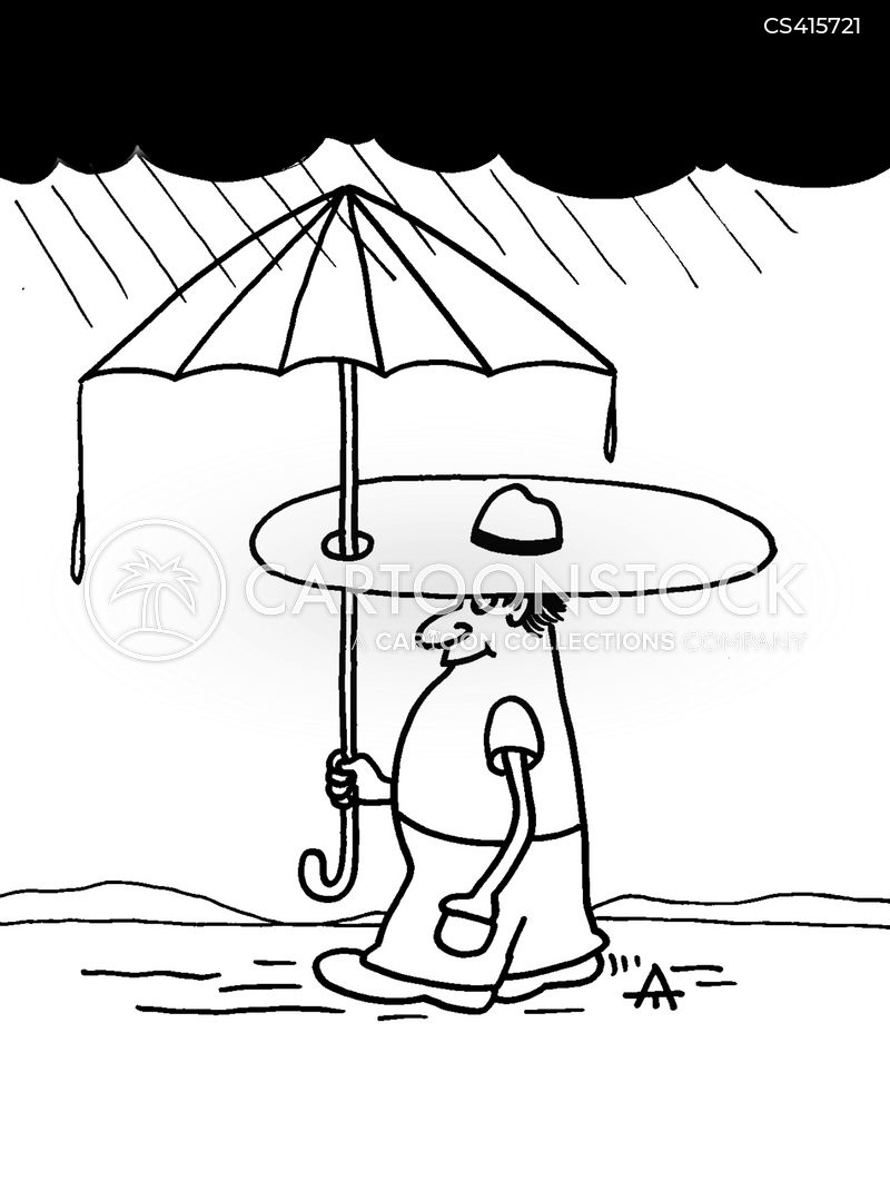 Sun Hat Cartoons And Comics Funny Pictures From Cartoonstock