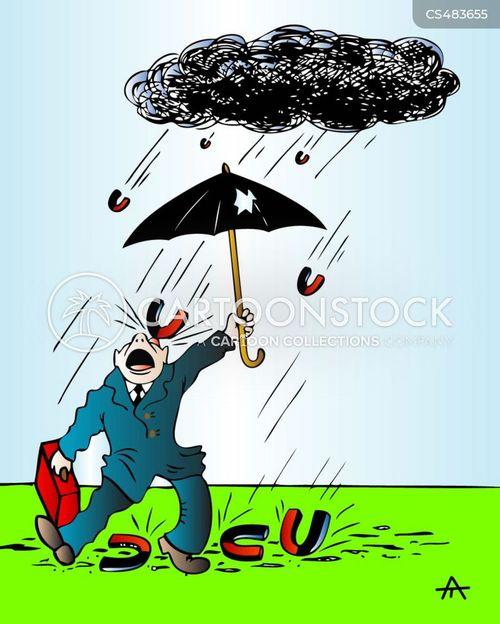 rain-storm cartoon