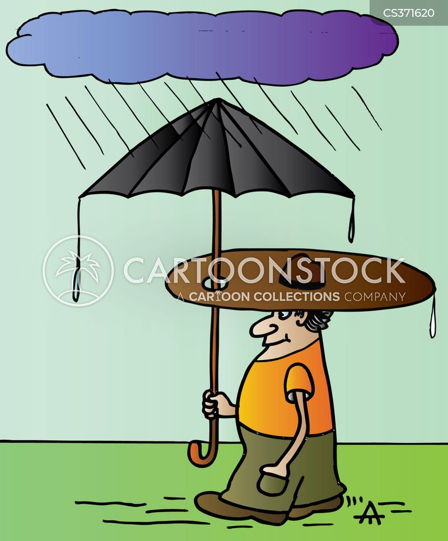 april showers cartoon