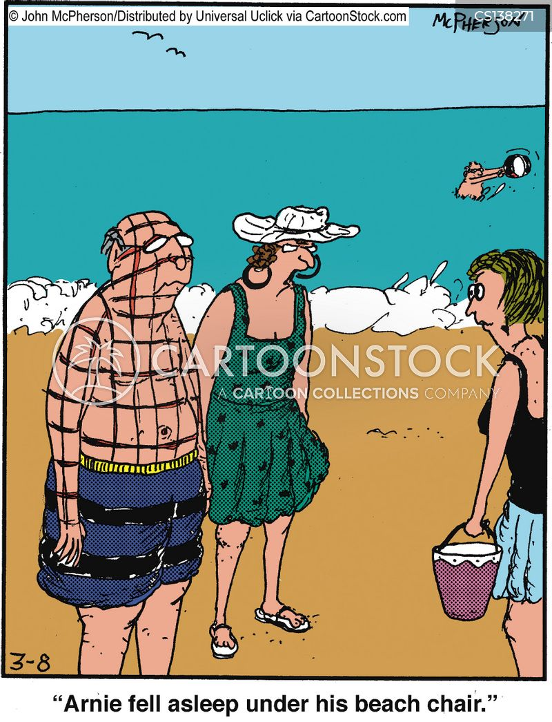 Beach chairs cartoons and comics funny pictures from cartoonstock beach chairs cartoon 1 of 5 voltagebd Gallery