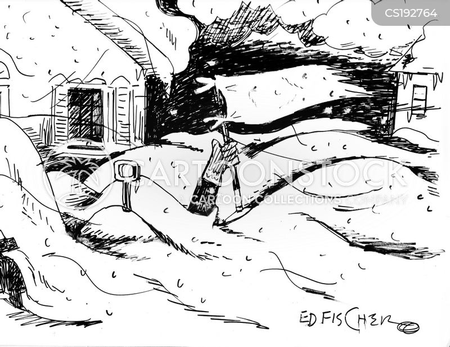 snowstorms cartoon