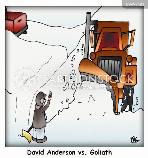 snowplow cartoon