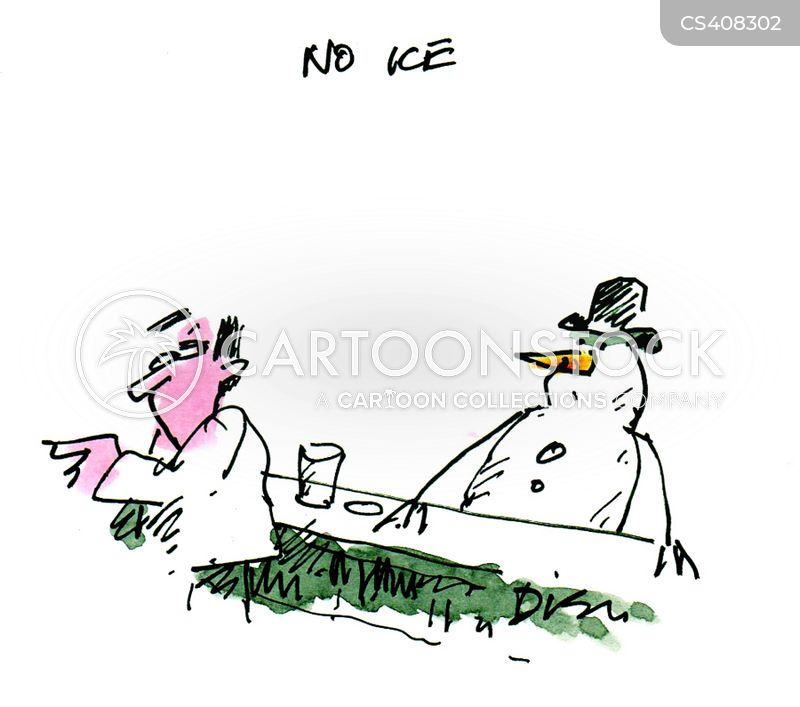 cold drink cartoon