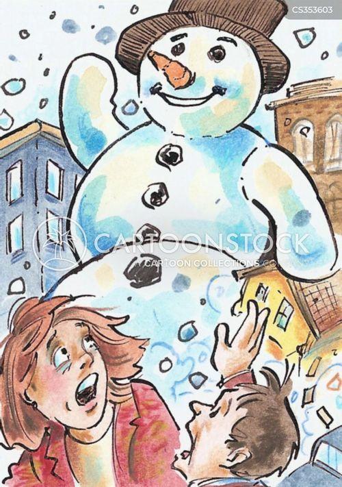 adverse weather cartoon