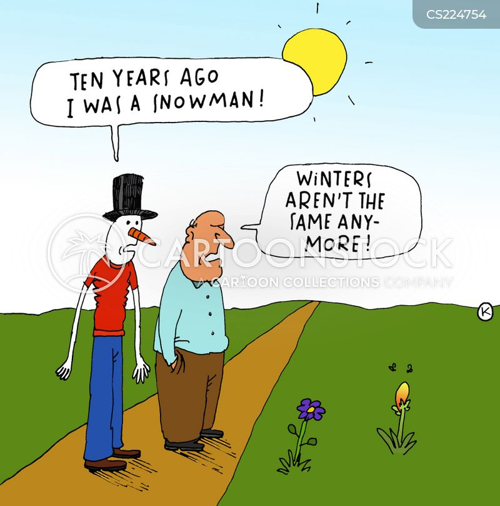 seasonal weather cartoon