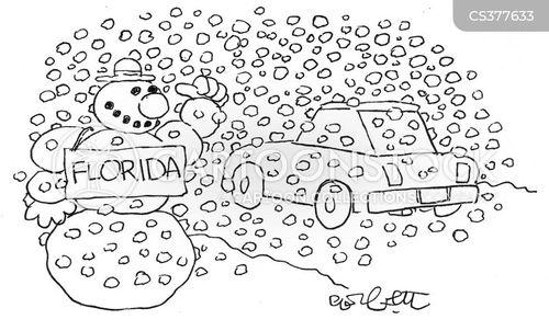 snow men cartoon
