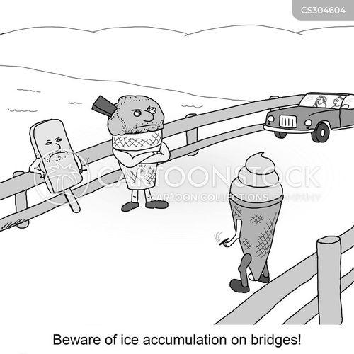 snow cone cartoon