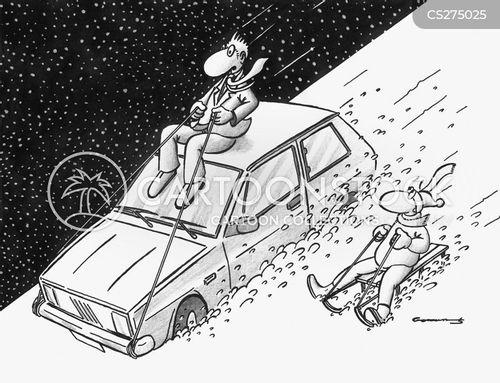 conjestion cartoon