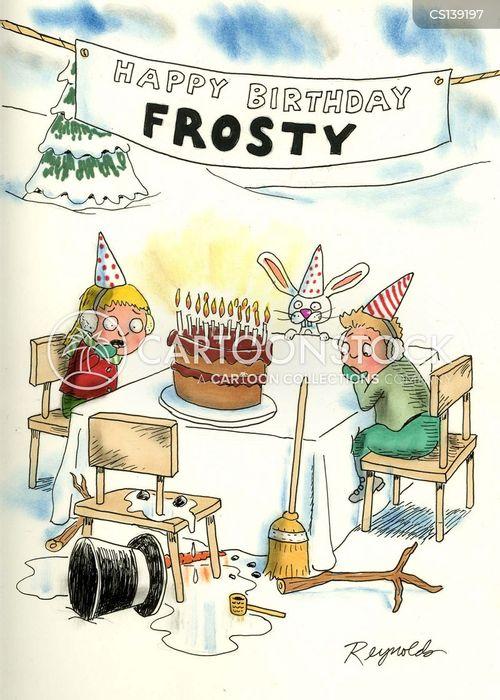 frosty the snowman cartoon