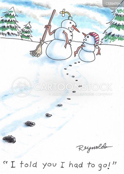 bathroom break cartoons and comics - funny pictures from cartoonstock