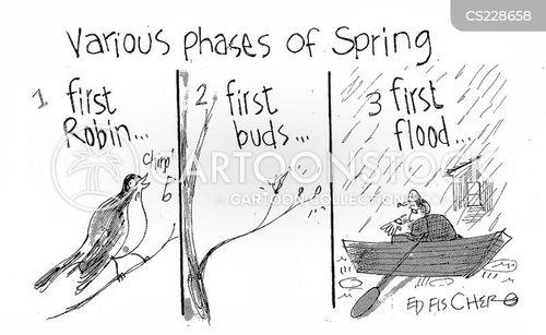winter times cartoon