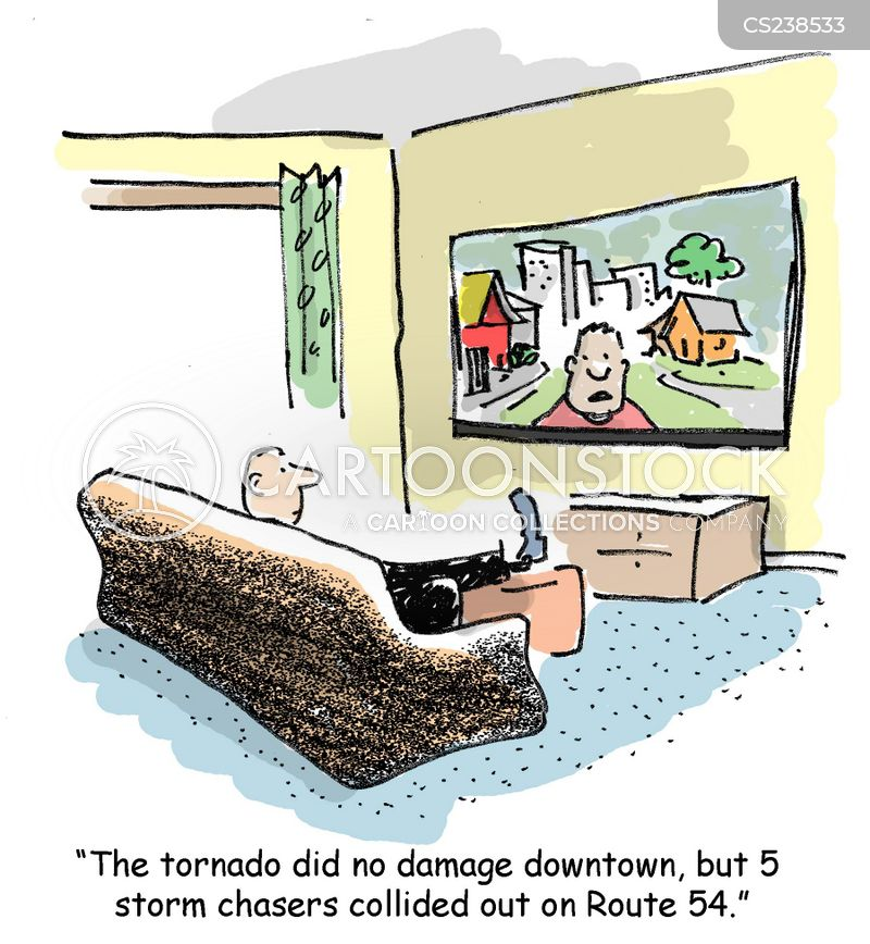 storm chasers cartoon