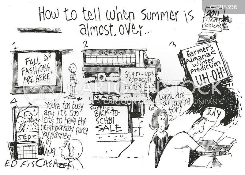 almanac cartoon