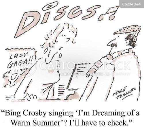 record shop cartoon