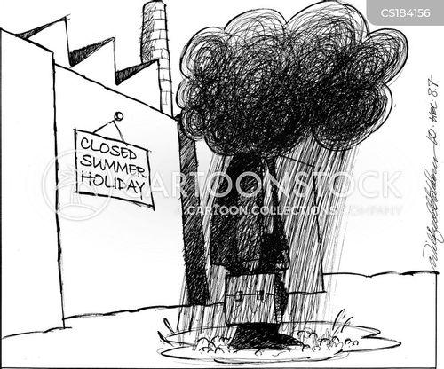 factory worker cartoon