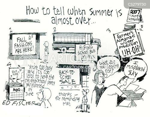 july cartoon