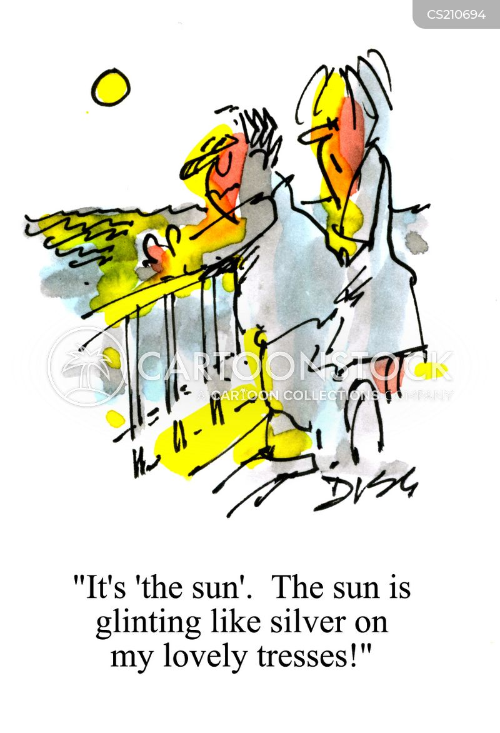 sun shine cartoon
