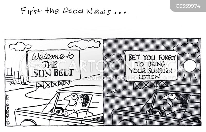 sun belt cartoon